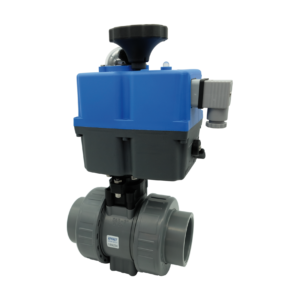 ABS ball valve electrically actuated - EFFAST - 100% Made in Italy