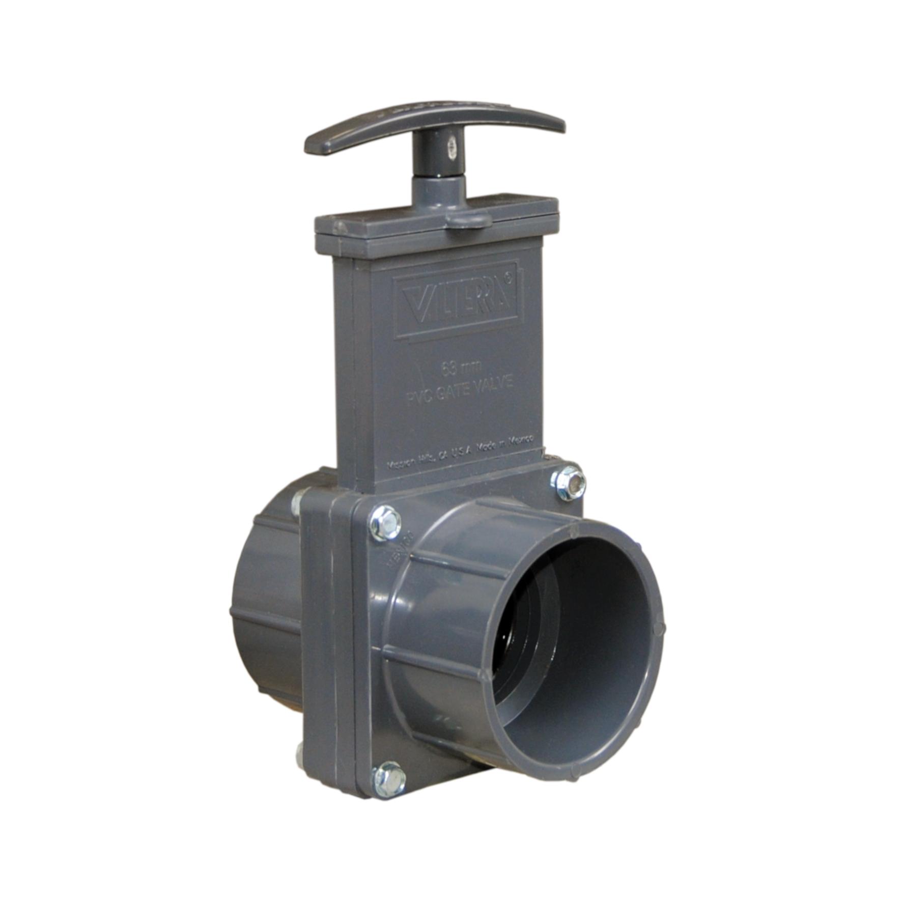 PVC-U gate valve - EFFAST - 100% Made in Italy
