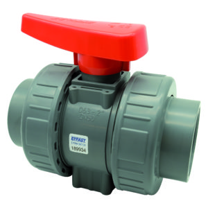 ABS double union ball valve BK1 - EFFAST - 100% Made in Italy