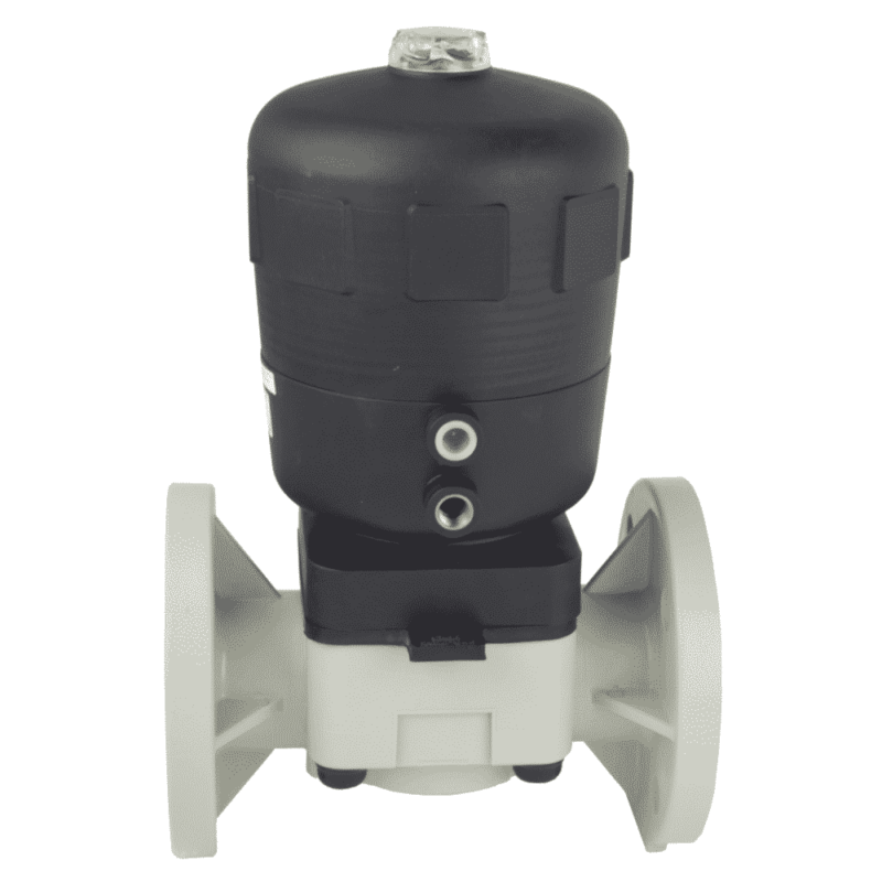 PP-H Pneumatic diaphragm valve - EFFAST - 100% Made in Italy