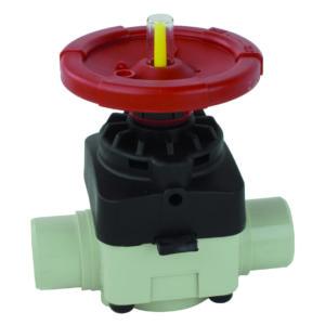 PP-H diaphragm valve - EFFAST - 100% Made in Italy