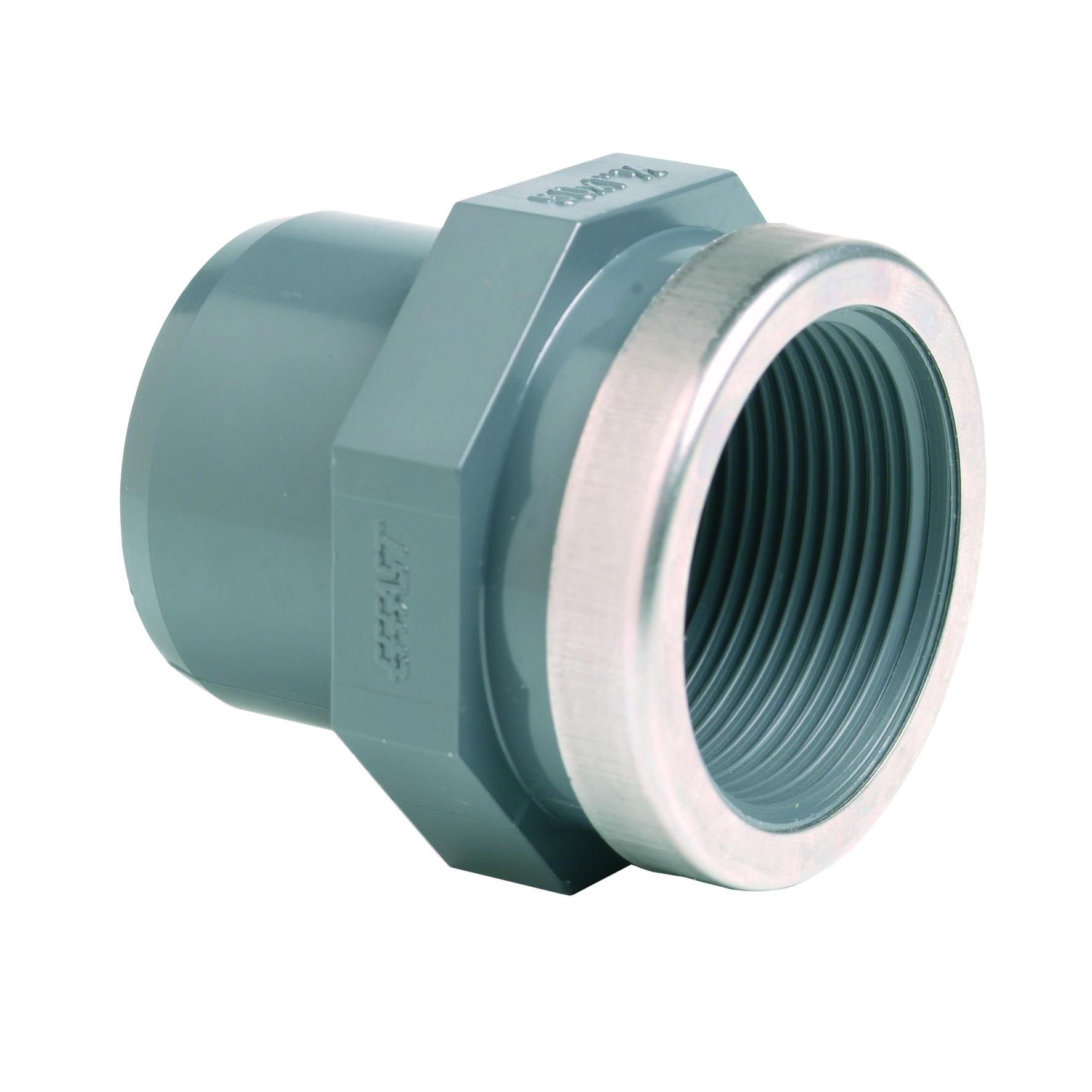 PVC-U adattatore femmina - EFFAST - 100% Made in Italy
