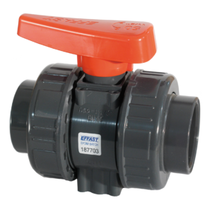 PVC-U valvola a sfera radiale BK1 - EFFAST - 100% Made in Italy