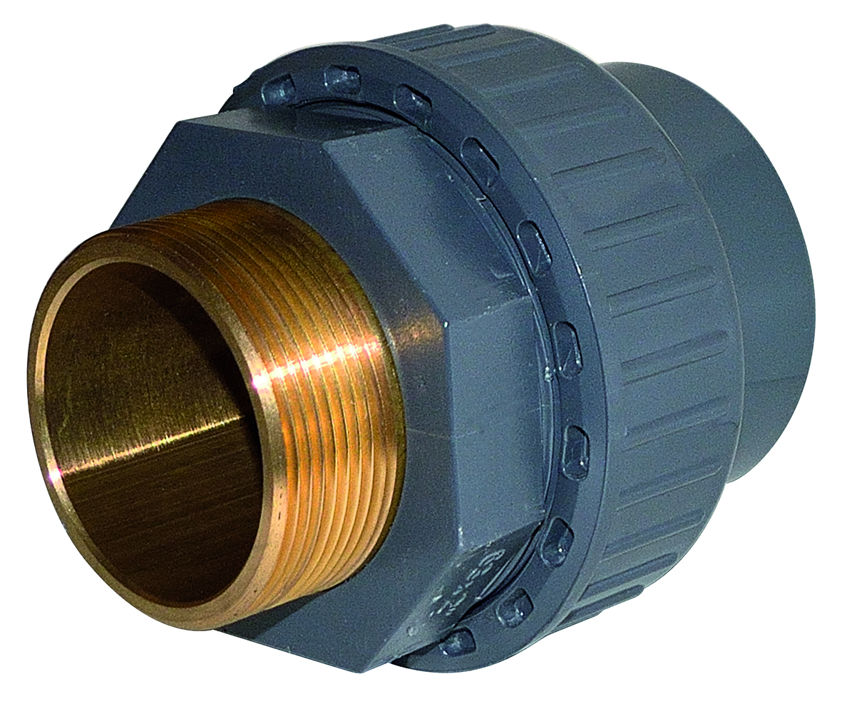 ABS/BRASS adaptor union - EFFAST - 100% Made in Italy