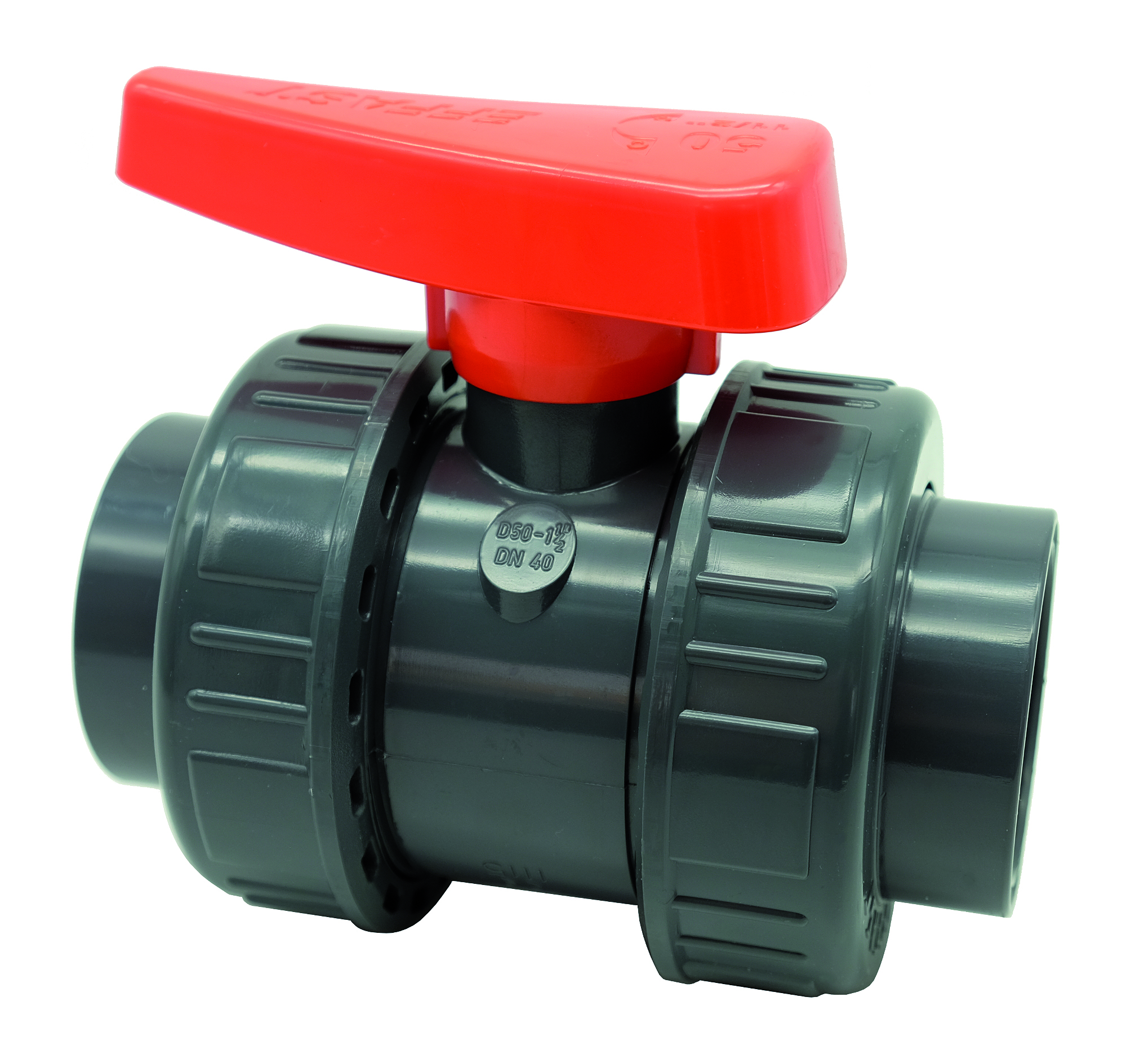 PVC-U double union ball valve BX - EFFAST - 100% Made in Italy
