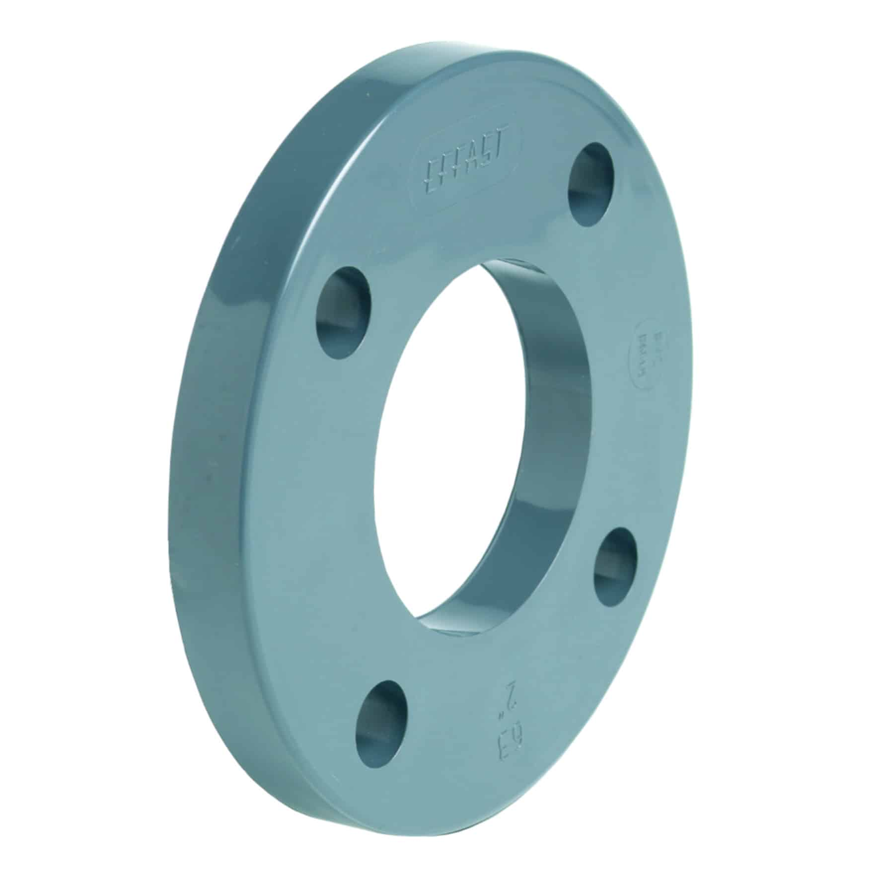 PVC-U backing ring EN/ISO/DIN - EFFAST - 100% Made in Italy