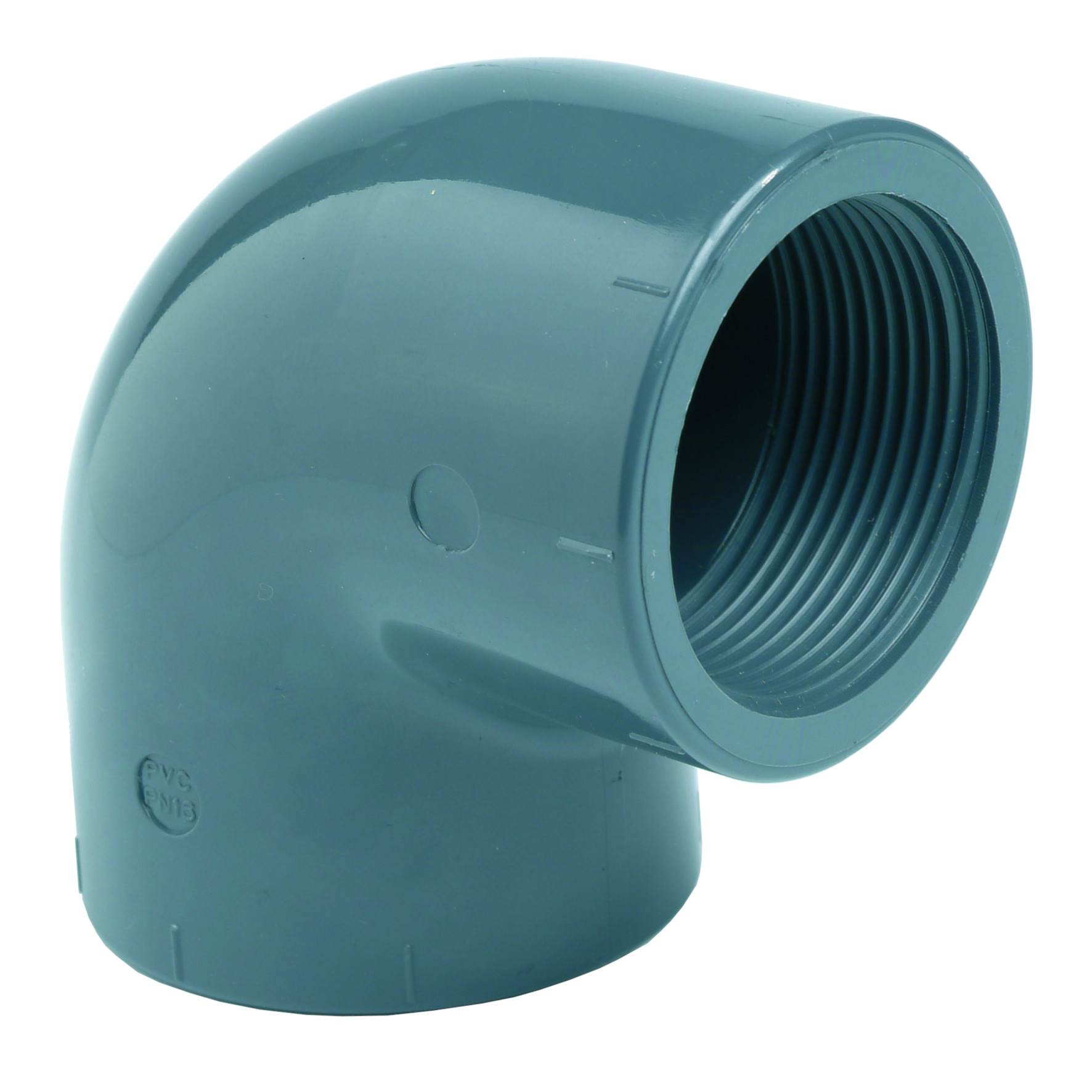 PVC-U 90° Elbow - EFFAST - 100% Made in Italy