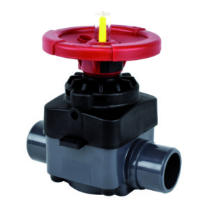 PVC-U diaphragm valve - EFFAST - 100% Made in Italy