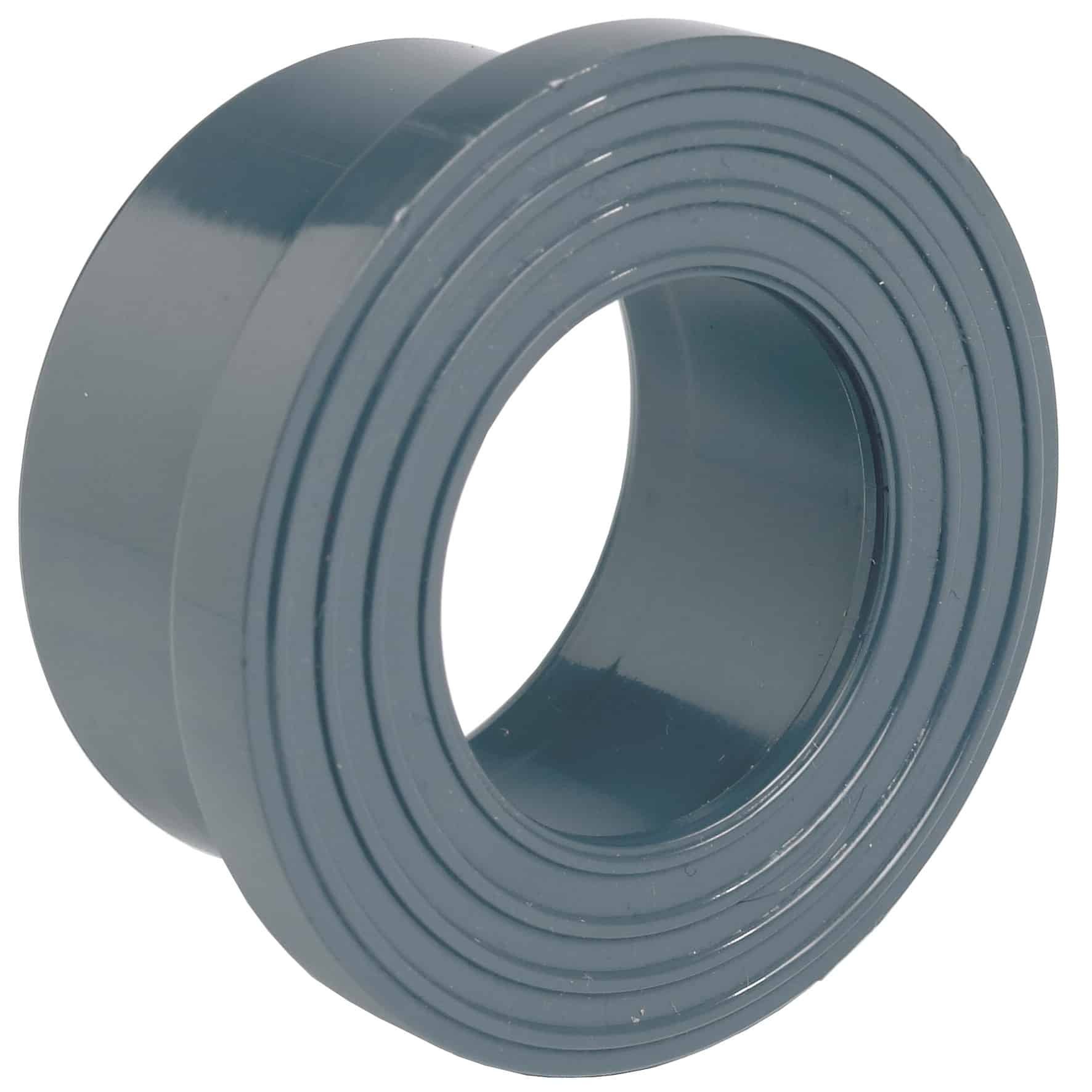 PVC-U serrated face stub flange - EFFAST - 100% Made in Italy