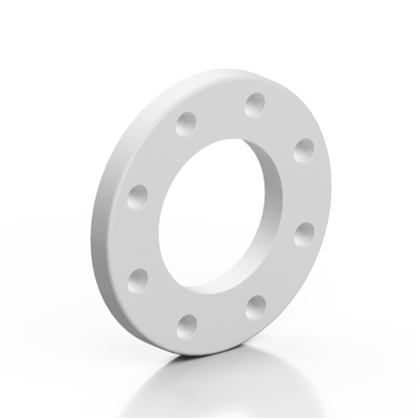 PP backing ring reinforced GREY with steel insert - EFFAST - 100% Made in Italy