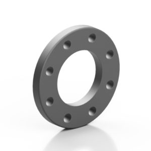 PP backing ring reinforced BLACK with steel insert - EFFAST - 100% Made in Italy