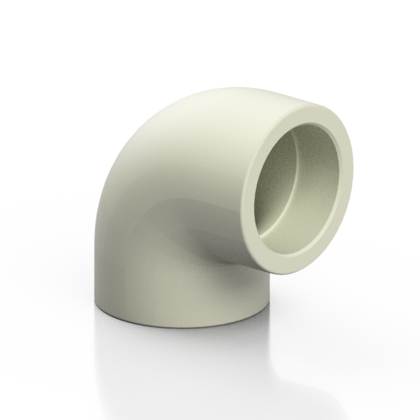 PP-H elbow 90° - EFFAST - 100% Made in Italy