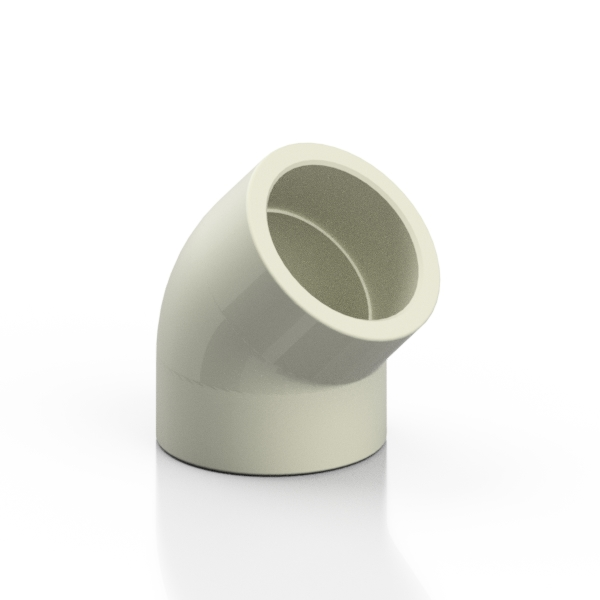 PP-H elbow 45° - EFFAST - 100% Made in Italy
