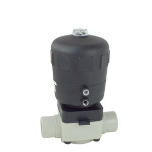 PP-H pneumatic diaphragm valve - EFFAST - 100% Made in Italy