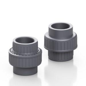 PVC-U union - EFFAST - 100% Made in Italy
