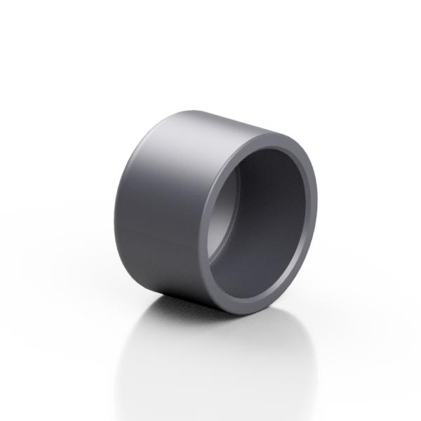 PVC-U end cap - EFFAST - 100% Made in Italy