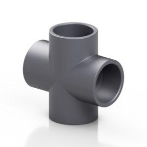 PVC-U croce 90° - EFFAST - 100% Made in Italy