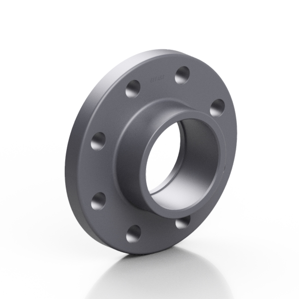 PVC-U fixed flange EN/ISO/DIN - EFFAST - 100% Made in Italy
