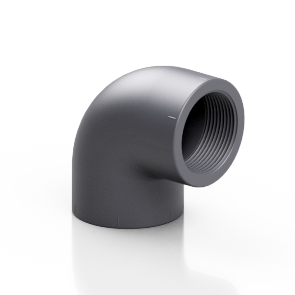 PVC-U elbow 90° - EFFAST - 100% Made in Italy
