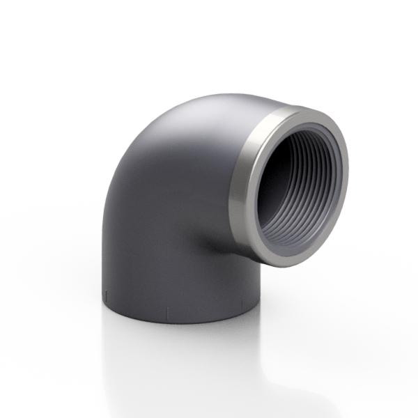 PVC-U gomito 90° - EFFAST - 100% Made in Italy
