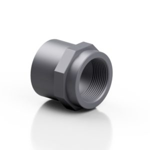 PVC-U socket - female - EFFAST - 100% Made in Italy