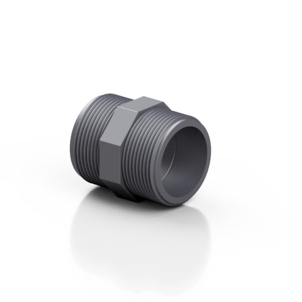 PVC-U nipplo - EFFAST - 100% Made in Italy