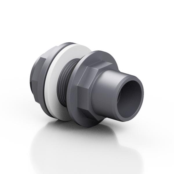 PVC-U attacco a serbatoio - EFFAST - 100% Made in Italy