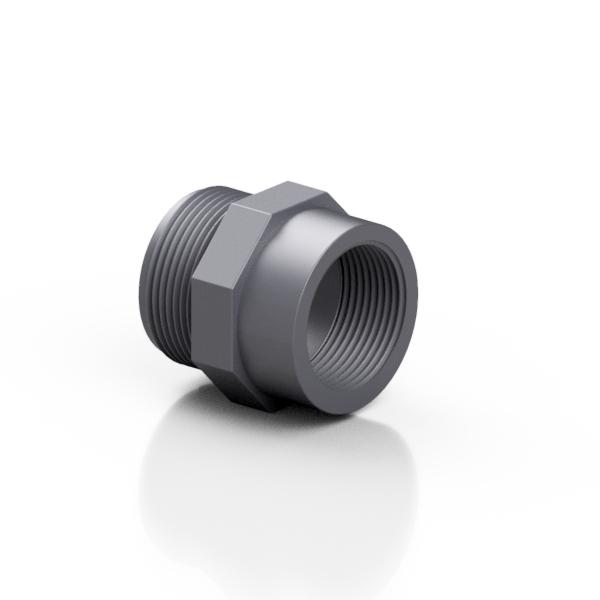 PVC-U reducer male - female - EFFAST - 100% Made in Italy