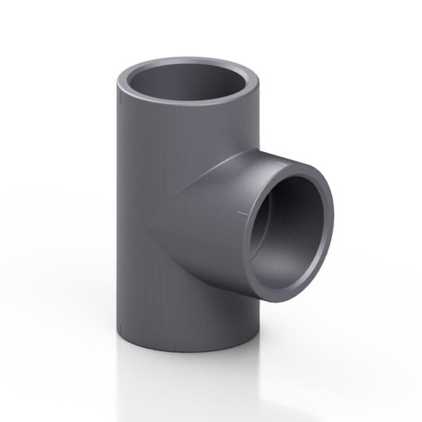 PVC-U tee 90° - EFFAST - 100% Made in Italy