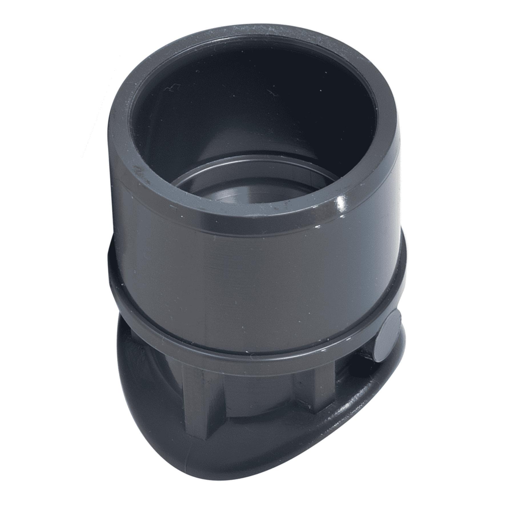 PVC-U saddle socket - EFFAST - 100% Made in Italy