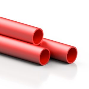 RED ABS pipe - EFFAST - 100% Made in Italy