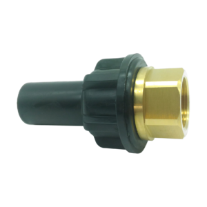 PE 100 adaptor metric/BRASS BSPP male - EFFAST - 100% Made in Italy