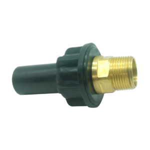 PE 100 adaptor metric/BRASS BSPP female - EFFAST - 100% Made in Italy