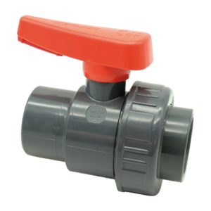 PVC-U single union ball valve SX - EFFAST - 100% Made in Italy