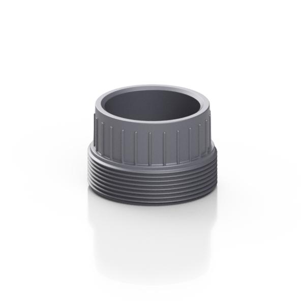 PVC-U pezzo fisso per bocchettoni - EFFAST - 100% Made in Italy