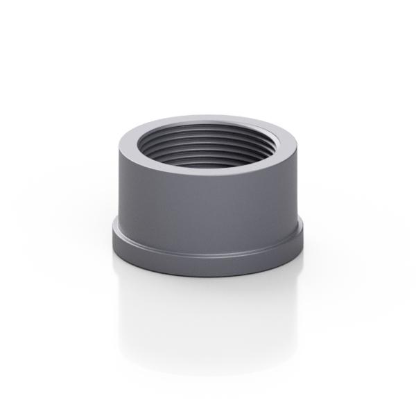 PVC-U pezzo folle per bocchettoni - EFFAST - 100% Made in Italy