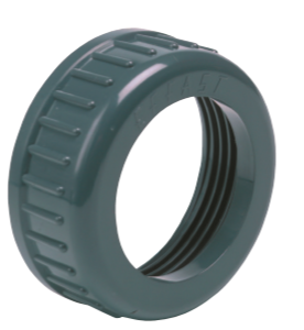 PVC-U Valve backnut - EFFAST - 100% Made in Italy