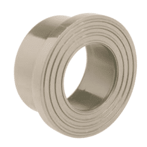 PP-H serrated face stub flange - EFFAST - 100% Made in Italy