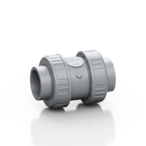 ABS double union spring check valve CV - EFFAST - 100% Made in Italy
