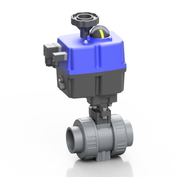 ABS valvola a sfera BK1 elettrica - EFFAST - 100% Made in Italy