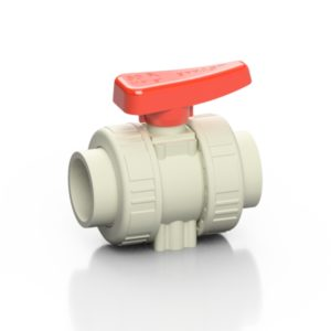 PP-H double union ball valve BK1 - EFFAST - 100% Made in Italy
