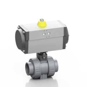 ABS ball valve pneumatically actuated - EFFAST - 100% Made in Italy