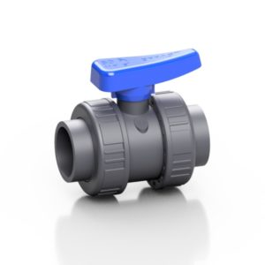 PVC-U double union ball valve BV - EFFAST - 100% Made in Italy