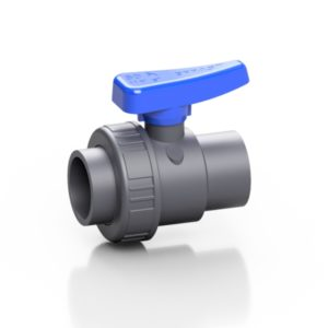 PVC-U single union ball valve SV - EFFAST - 100% Made in Italy