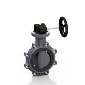 PVC-U valvola a farfalla PROFLOW®P - EFFAST - 100% Made in Italy