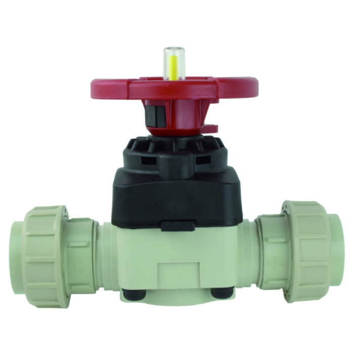 PP-H Diaphragm valve - EFFAST - 100% Made in Italy