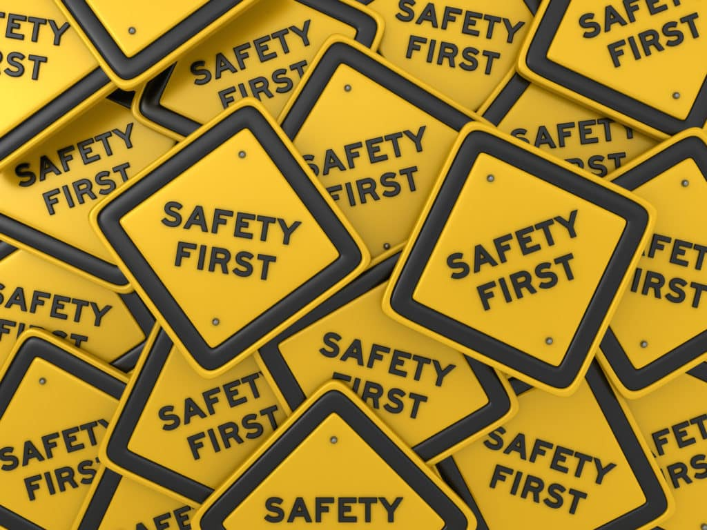 SAFETY FIRST Road Sign - EFFAST - 100% Made in Italy