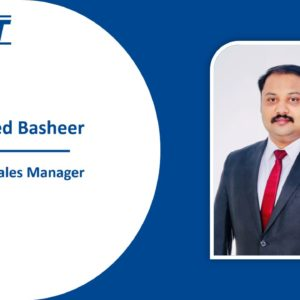Welcome on board, Mohammed Basheer!