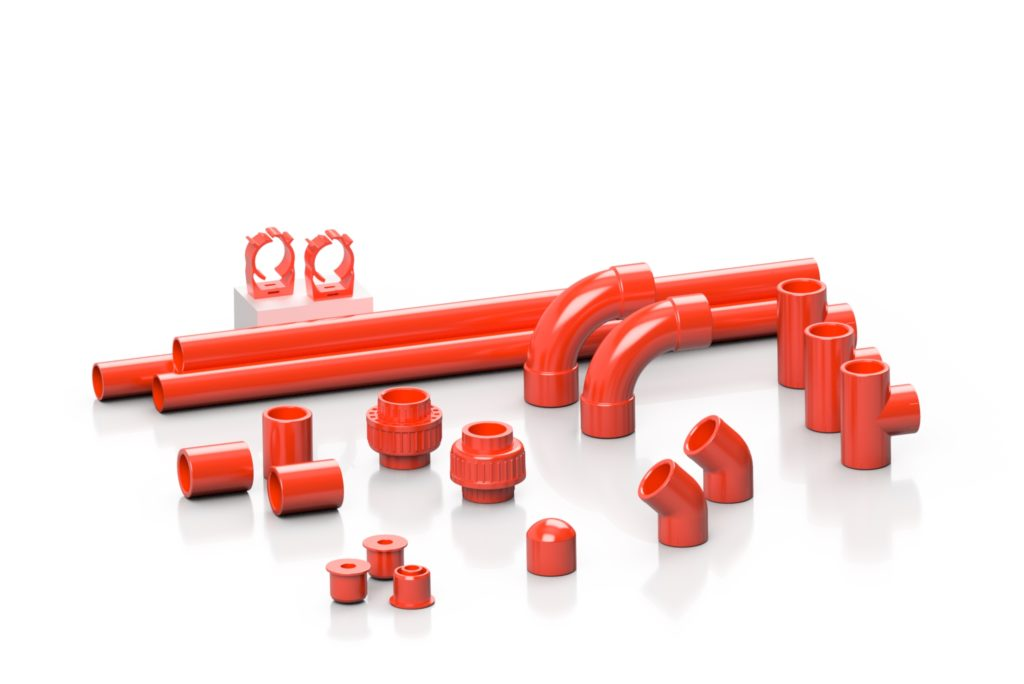 Polimeri ABS ROSSO - EFFAST - 100% Made in Italy