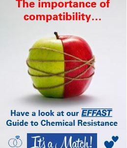 Online la Guida EFFAST sulla compatibilità chimica